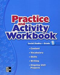 Macmillan/McGraw-Hill Social Studies, Grade 1, Practice and Activity Book Blackline Masters