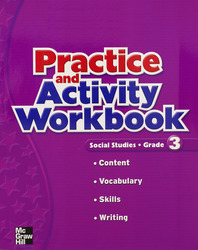 Macmillan/McGraw-Hill Social Studies, Grade 3, Practice and Activity Book Blackline Masters