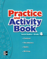 Macmillan/McGraw-Hill Social Studies, Grade 4, Practice and Activity Book Blackline Masters