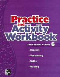 Macmillan/McGraw-Hill Social Studies, Grade 6, Practice and Activity Book Blackline Masters