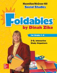Macmillan/McGraw-Hill Social Studies, Grade 1, Foldables Handbook: 3-D Graphic Organizers