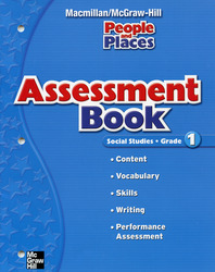Macmillan/McGraw-Hill Social Studies, Grade 1, Assessment Blackline Masters