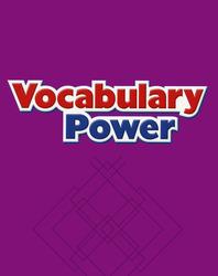 Macmillan/McGraw-Hill Social Studies, Grade 3, Vocabulary Power Blackline Masters