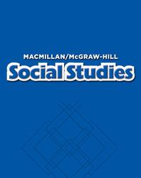 Macmillan/McGraw-Hill Social Studies, Grade 1, Theme Big Book - Unit 5 History