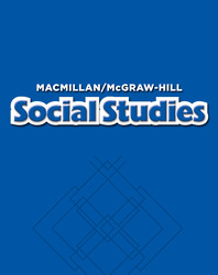 Macmillan/McGraw-Hill Social Studies, Grade 1, Theme Big Book - Unit 5 History
