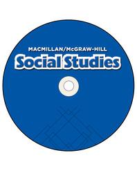 Macmillan/McGraw-Hill Social Studies, Grade 4, Pupil Edition on Audio CD