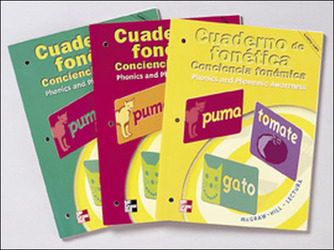 Macmillan/McGraw-Hill Reading Spanish, Grade 2, Spanish Phonemic Awareness Practice Book