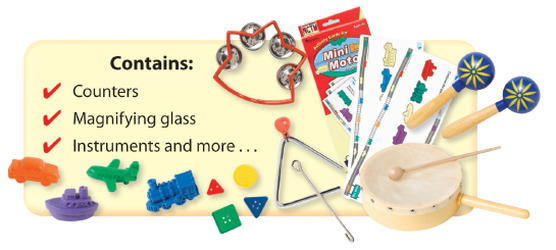 World of Wonders, Grade Pre-K, Manipulative Kit