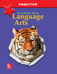 McGraw-Hill Language Arts, Grade 4, Practice Workbook