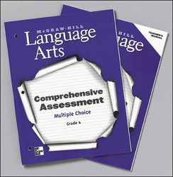 McGraw-Hill Language Arts, Grade 4, Comprehensive Assessment - Multiple Choice Blackline Masters