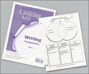 McGraw-Hill Language Arts, Grade 4, Writing Transparencies