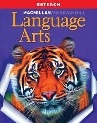 McGraw-Hill Language Arts, Grade 4, Reteach Blackline Masters with Answer Key