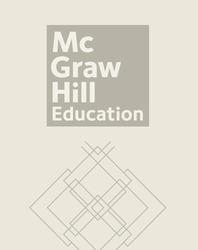 McGraw-Hill Language Arts, Grade K, Handwriting Manuscript Workbook, Teacher's Edition