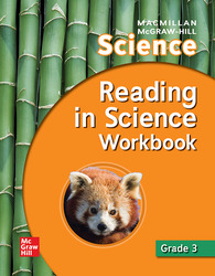 Macmillan/McGraw-Hill Science, Grade 3, Reading in Science Workbook
