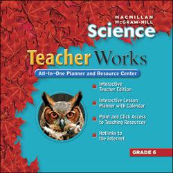 Macmillan/McGraw-Hill Science, Grade 6, Teacher Works CD-ROM