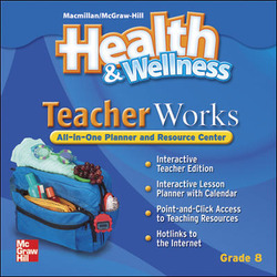 Health and Wellness, Grade 8, TeacherWorks CD-ROM