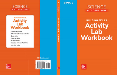 Science, A Closer Look, Grade 3, Activity Lab Book