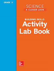 Science, A Closer Look, Grade 3, Activity Lab Book Teacher's Guide'