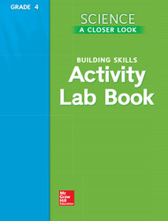 Science, A Closer Look, Grade 4, Activity Lab Book Teacher's Guide'