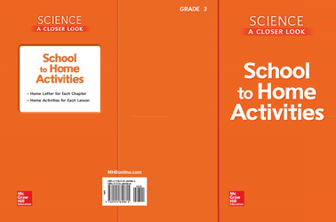 Science, A Closer Look, Grade 3, School to Home Activities
