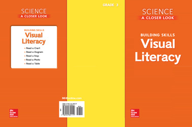 Science, A Closer Look, Grade 3, Visual Literacy Blackline Masters
