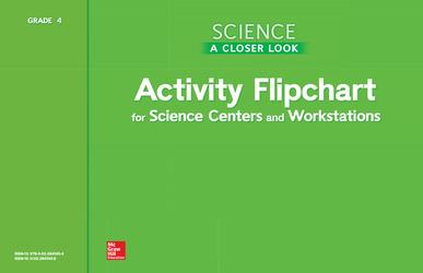 Science, A Closer Look, Grade 4, Activity Flipchart