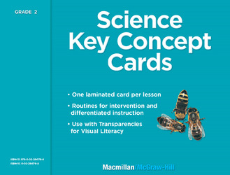 Science, A Closer Look, Grade 2, Key Concept Cards