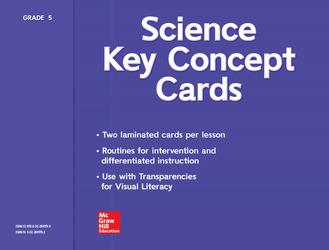 Science, A Closer Look, Grade 5, Key Concept Cards