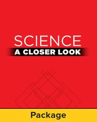 Science, A Closer Look, Grade 1, Teacher's Edition Package (3 Vol. set)'