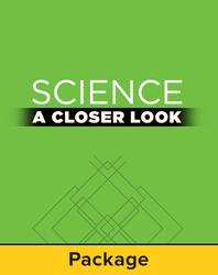 Science, A Closer Look, Grade 4, Teacher Edition Package (3 Vol. set)