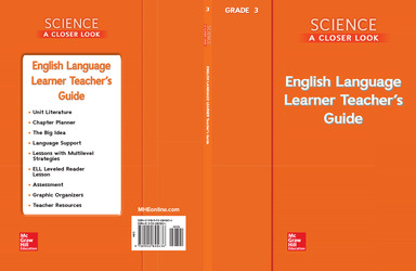 Science, A Closer Look, Grade 3, ELL Teacher's Guide'