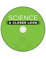 Science, A Closer Look, Grade Pre-K, Science Songs Audio CD