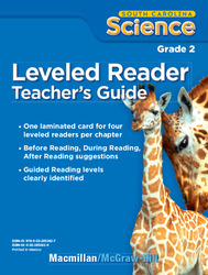 Science, A Closer Look, Grade 2, Science Leveled Reader Teacher's Guide'