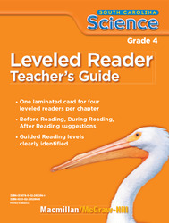 Science, A Closer Look, Grade 4, Science Leveled Reader Teacher's Guide'