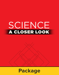 Science, A Closer Look Grade 1, Science Literature Big Book Package (3 volumes)