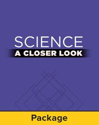Science, A Closer Look, Grade 5, Demonstration Kit