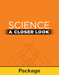 Science, A Closer Look, Grade 3, Consumable Kit
