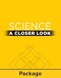 Science, A Closer Look, Grade K, Ciencias: Leveled Reader - Deluxe Library (6 ea) Libros por nivel