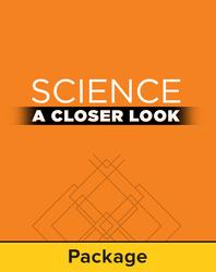 Science, A Closer Look, Grade 3, Classroom Explore Activities Starter Kit