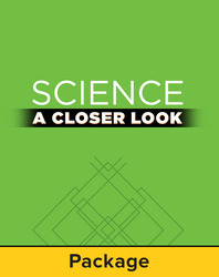 Science, A Closer Look, Grade 4, Classroom Explore Activity Kit