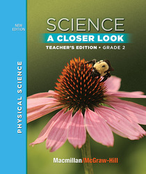 Science, A Closer Look, Grade 2, Teacher's Edition, Physical Science, Vol. 3'