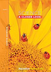 Science, A Closer Look Grade 1,  Earth Science Unit, Big Book