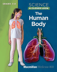 Science: A Closer Look, The Human Body Book, Grades 3-4
