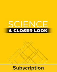 Science, A Closer Look, Grade K, Online Teacher Edition 2011 (6 year subscription)