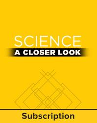 Science, A Closer Look, Grade K, Online Teacher Edition 2011 (6 year subscription)