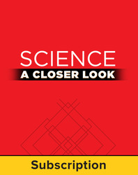 Science, A Closer Look Grade 1, Online Teacher Edition 2011 (1 year subscription)