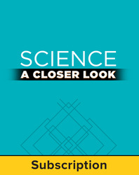 Science, A Closer Look Grade 2, Online Teacher Edition 2011 (1 year subscription)