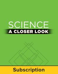 Science, A Closer Look, Grade 4, Online Teacher Edition 2011 (1 year subscription)