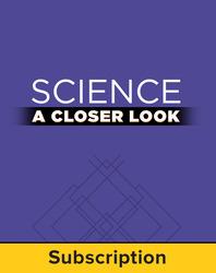 Science, A Closer Look, Grade 5, Online Teacher Edition 2011 (6 year subscription)