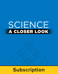 Science, A Closer Look Grade 6, Online Teacher Edition 2011 (6 year subscription)